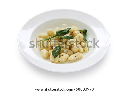 Potato Gnocchi with Sage-Butter Sauce