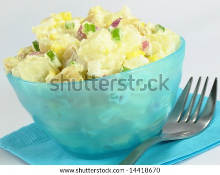 Potato Salad and Fork