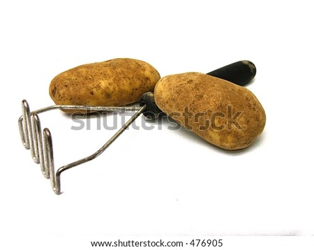 Potatoes and masher