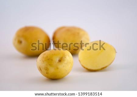 Potatoes Raw Potato, Vegetable, Food,  Raw Food
