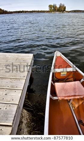 Potawatomi State Park Boat rental canoe dock Wisconsin Sturgeon Bay