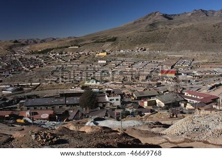 Potosi mining factory