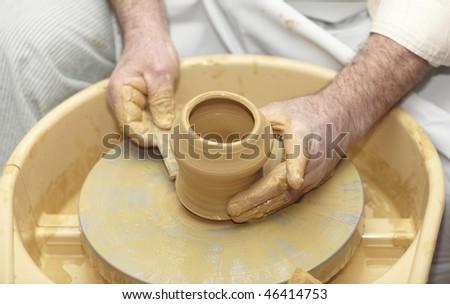 pottery close up