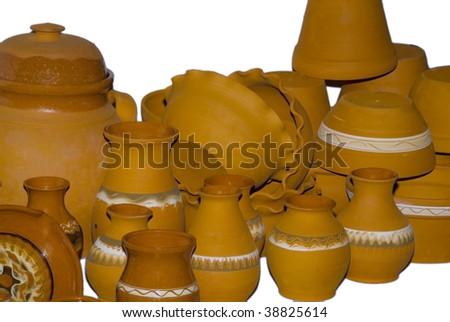 Pottery earthenware