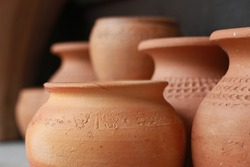 Pottery is the ceramic material
