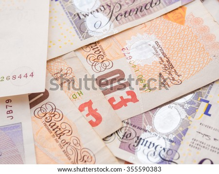 Pound currency background,  Currency of the United States