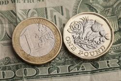 Pound euro and dollar exchange rate