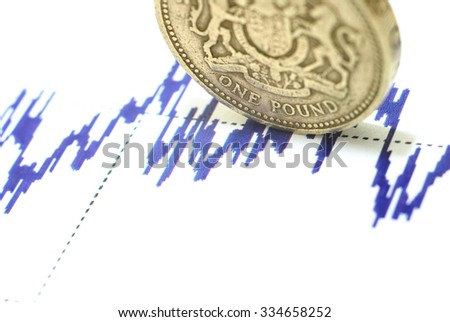 Pound sterling on the blue graph #334658252
