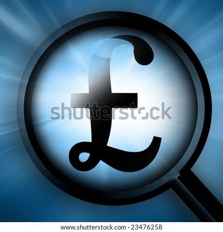 Pound symbol on a dark blue background