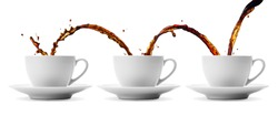 pouring coffee showing concepts of continuity, repetition and sharing