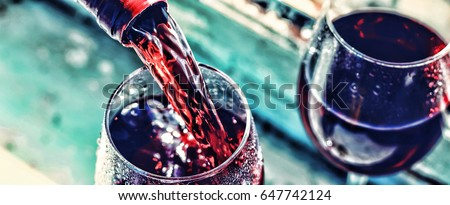 Pouring wine #647742124