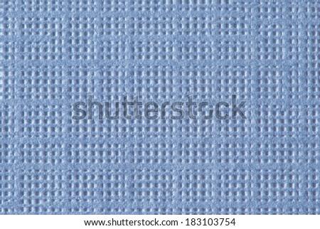 Powder Blue Textured Paper Macro