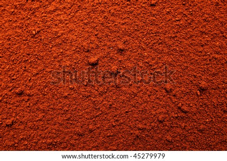 Powder cocoa. You can use the background. - stock photo