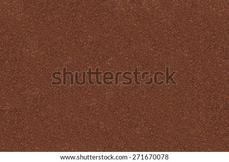 Powder Texture Of Ground Coffee