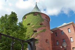 Powder Tower- a part of the defensive system of the medieval town, Riga Old City, Latvia