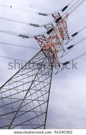 power and energy, high voltage post
