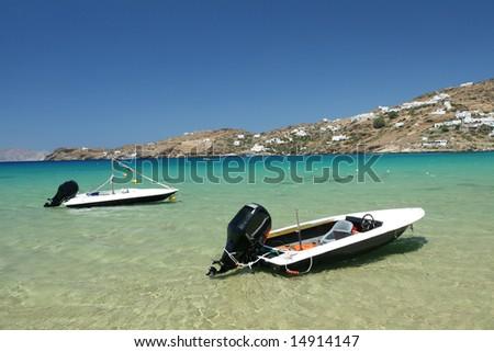 Power Boats in Bay