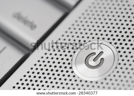 Power button from a keyboard