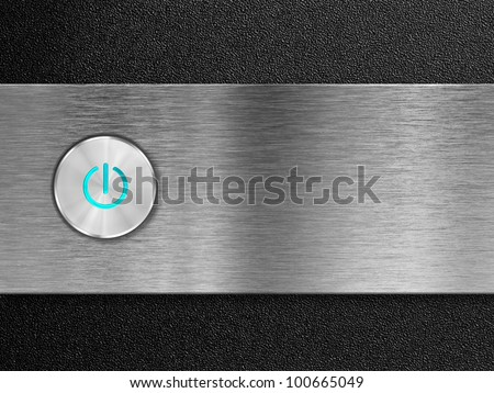 power button on pc panel