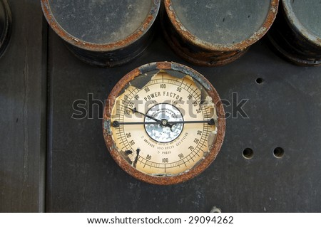 Power Factor Gauge