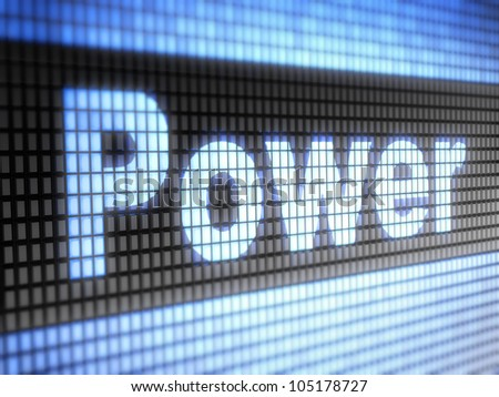 Power  Full collection of icons like that is in my portfolio