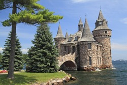 Power House at Boldt Castle, Thousand Islands, New York State