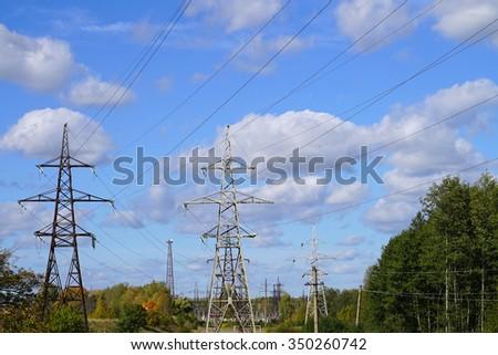 Power line. #350260742