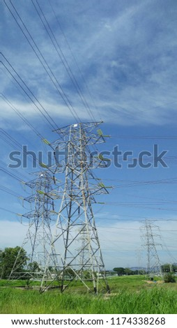 Power line electricity #1174338268