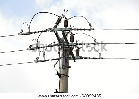 Power Line, power electric distribution
