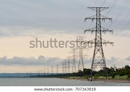 power lines #707363818