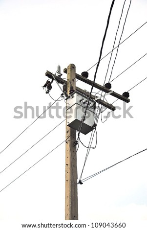 Power lines isolated - Power Transmission Lines