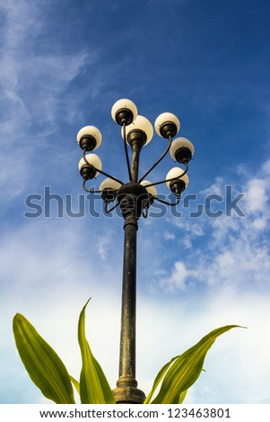 power of lamp in the nature