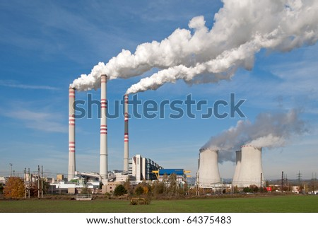 Power plant in Pocerady (Czech Republic)