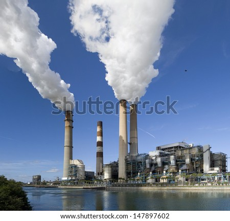 Power plant in Tampa