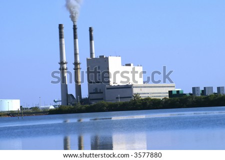Power plant in Tampa Bay #3577880