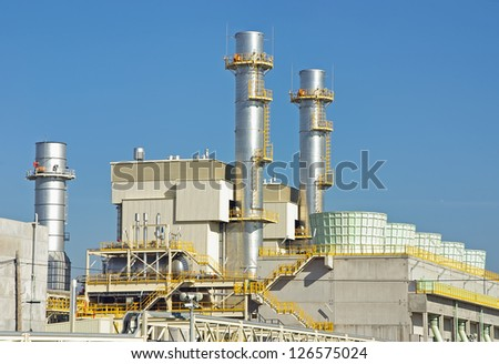 Power plant located in Majorca (Spain) to produce electricity
