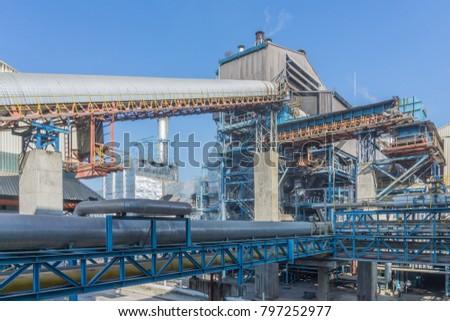 Power Plant of Sugar factory Thailand