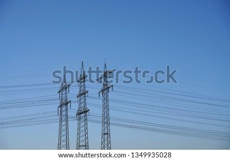 Power pole Power line #1349935028