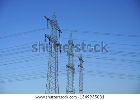 Power pole Power line #1349935031