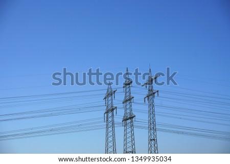 Power pole Power line #1349935034