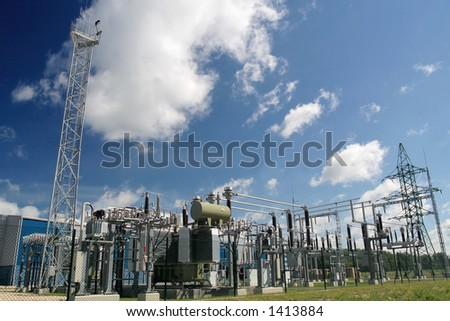Power station for Industry