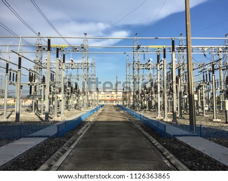Power station for power supply #1126363865