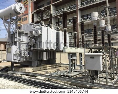 Power station for power supply #1148405744