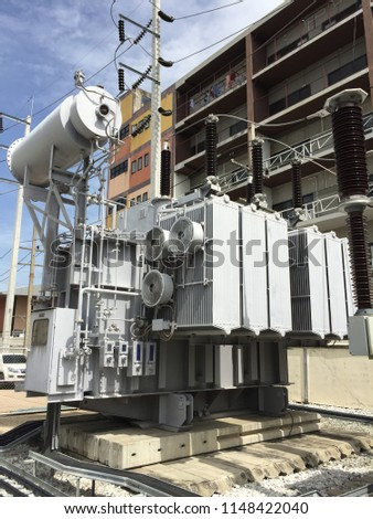 Power station for power supply #1148422040