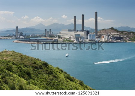 Power Station in Hong Kong