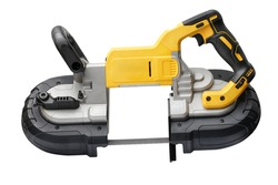 Power tool .Deep Cut and Compact Band Saws,cordless band saws,Portable Band Saw on white background