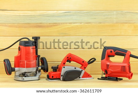 Power tools for woodworking