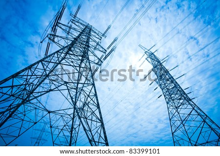 Power Tower stock photo