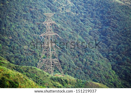 Power Tower on mountain