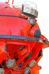 powerful lighting devices of deep-sea manned vehicle for oceanographic research and rescue operations